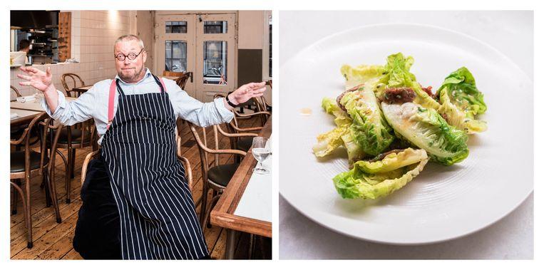 De 'levensreddende salade' kan worden geserveerd. Beeld Simon Lenskens