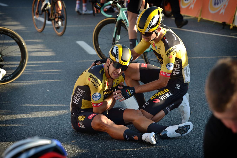Dylan Groenewegen is de gebeten hond na de massale valpartij in de eerste etappe van de Ronde van Polen.