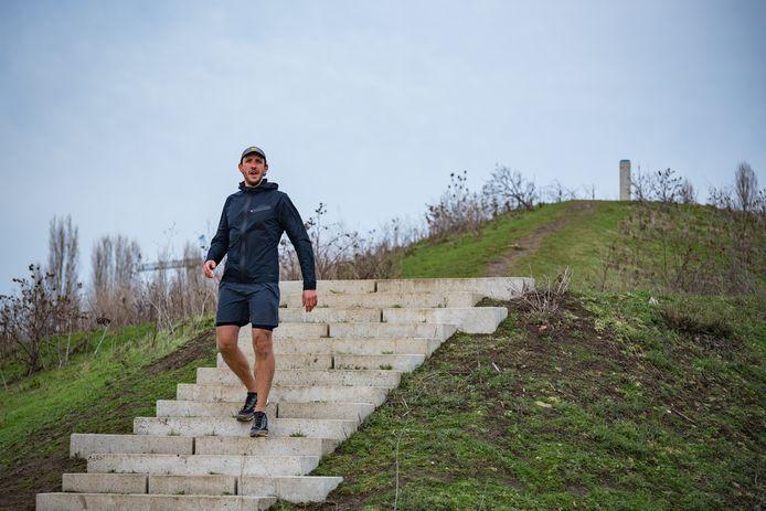 Gianni Camilleri is al volop aan het trainen voor zijn negen halve marathons in de Polders van Kruibeke