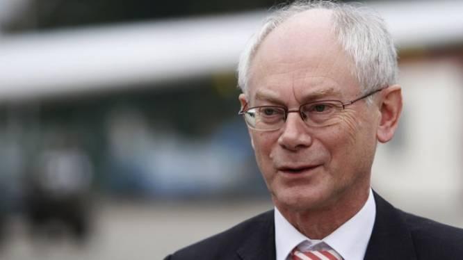 Volgende week beslissing over EU-topjob Van Rompuy