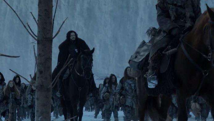 Jon is de laatste die we te zien krijgen.