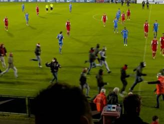 UEFA onderzoekt veldbestorming tijdens pauze van Youth League-wedstrijd RC Genk-FC Köln