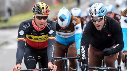 Belgisch kampioen Oliver Naesen verschijnt aan start Ronde van Vlaanderen
