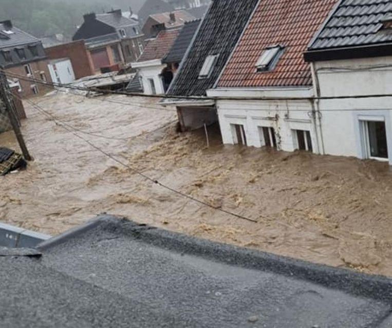 Pepinster, provincie Luik. Beeld Facebook