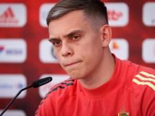 """Trossard s'attend à """"un match spécial"""" contre le Danemark"""