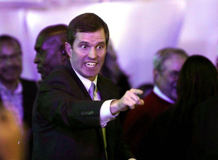 Andy Beshear, de nieuwe gouverneur van Kentucky.