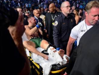 """McGregor claimt dat hij voor beenbreuk al geblesseerd was: """"Vraag het ze, ze wisten het!"""""""