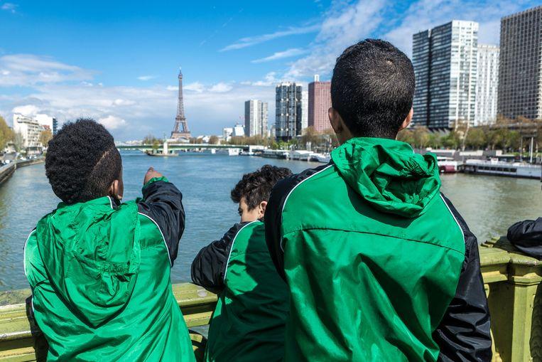 Geen bezoek aan Parijs zonder Eiffeltoren.