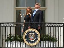Totale zonsverduistering Amerika voorbij: 'bizar verschijnsel'
