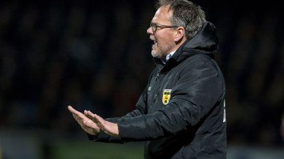 """Trainer van niet promoverend Cambuur woedend: """"Grootste schande uit Nederlandse sportgeschiedenis"""""""