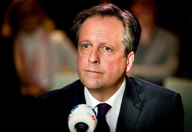 Alexander Pechtold: 'Ik denk dat we met vier of vijf partijen een mooie coalitie kunnen vormen' Beeld ANP