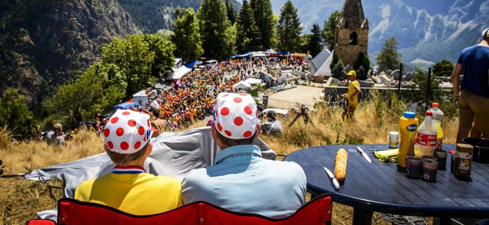 De Apollo-vlinder wint de strijd om de Alpe d'Huez