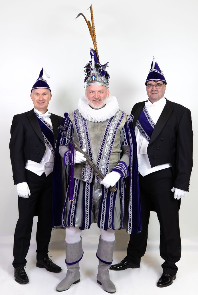 Prins Willem van Bourgondië en zijn adjudanten Boursin en Paturain