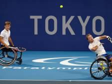 Rolstoeltennissers veroveren bij Paralympische Spelen goud in het dubbelspel