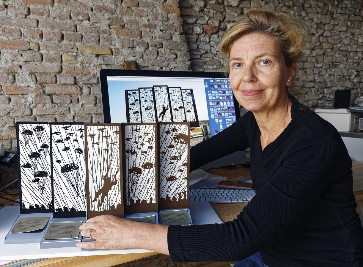 De Dungense Karin Colen maakte het ontwerp voor een groot herdenkingsmonument op de Ginkelse Heide.