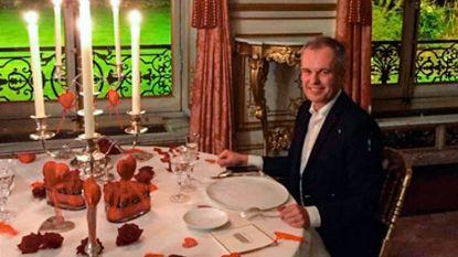 Kreeft en champagne voor voorzitter Franse parlement, op kosten van de staat