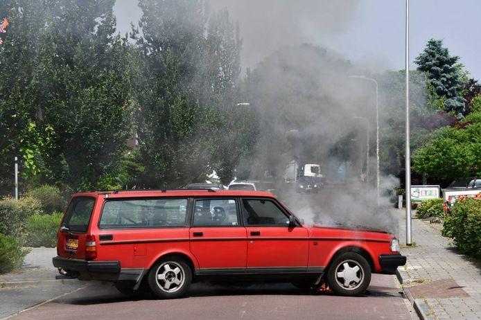 De autobrand in Daarlerveen