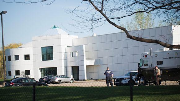 De politie heeft opnieuw onderzoek gedaan bij het huis van Prince.