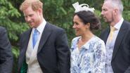 Meghan en Harry lappen protocol aan hun laars op trouwfeest van Harry's nicht