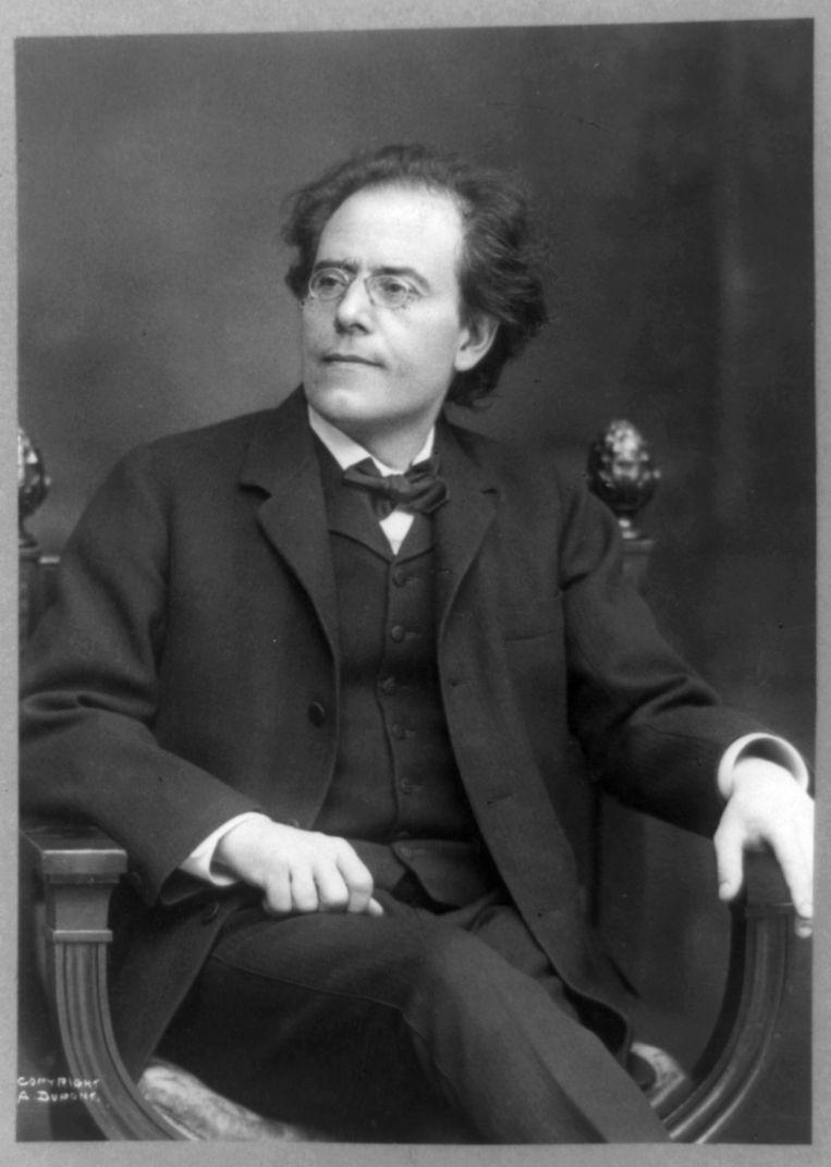 Gustav Mahler. Beeld