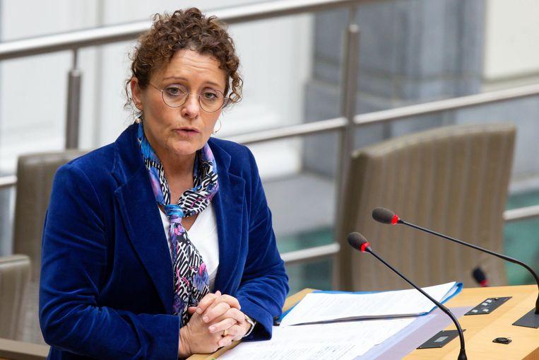 Minister van Mobiliteit Lydia Peeters