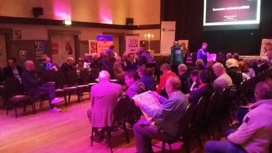 Politiek debat in Rosmalen.