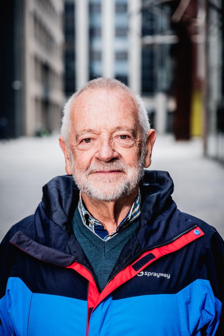 Wim Waes: 'Ik heb lange tijd judo gedaan, maar bij de veteranen deden ze niet meer aan competitie. Dan is het plezier er snel af.' Beeld Wouter Van Vaerenbergh Humo 2020