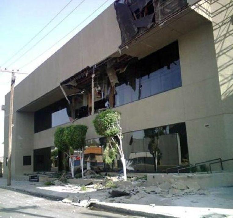 De regering van de Mexicaanse deelstaat Baja California heeft maandag de noodtoestand uitgeroepen , nadat het gebied getroffen was door een zware aardbeving. ANP Beeld