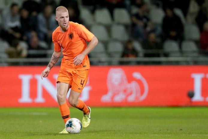 Rick van Drongelen in Jong Oranje.