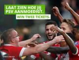 Foto van met stadionverbod gestrafte PSV-fan in reclame sponsor Energiedirect