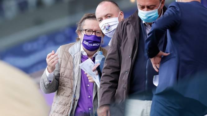 """""""Kapitaalsverhoging op Anderlecht is niet hoogdringend"""", maar het tegendeel is waar"""