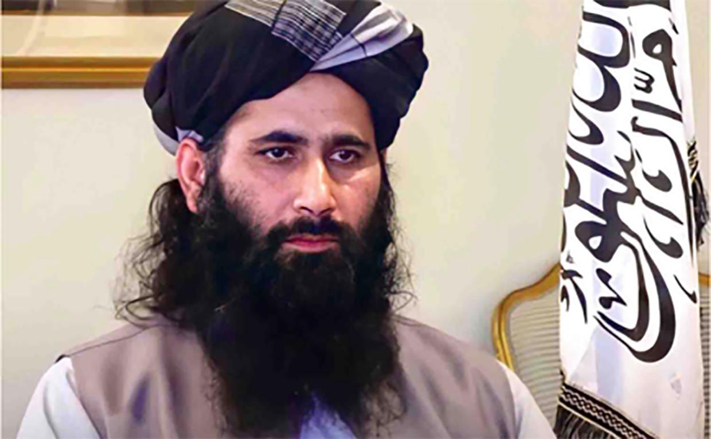 Taliban-woordvoerder Mohammed Naeem Wardak. Beeld rv