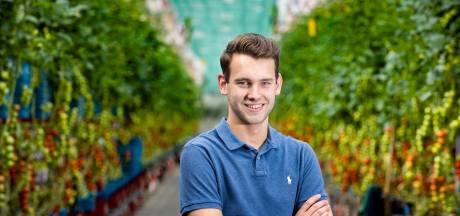 Als nieuwe bestuurder vertegenwoordigt Teun Vereijken jonge glastuinbouwers