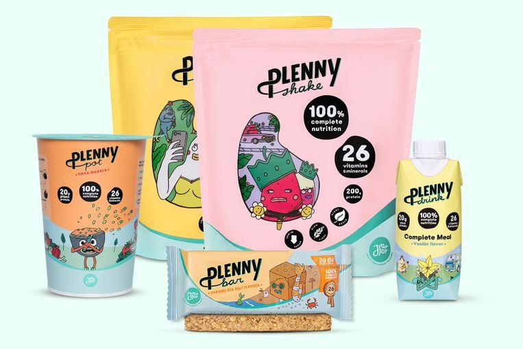 Plenny-producten  van Jimmy Joy Beeld