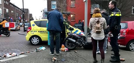 Scooterrijder gewond bij aanrijding in Arnhem