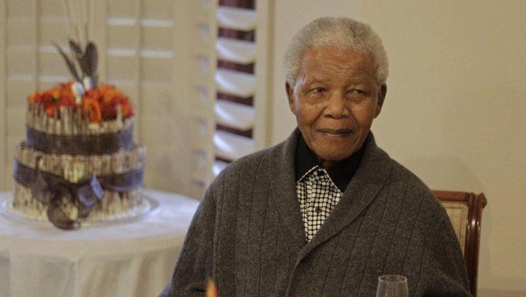 Nelson Mandela Beeld ap