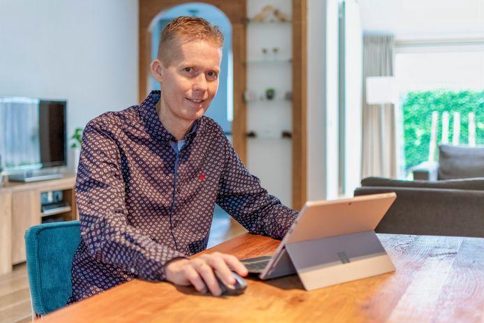 CarelJan Kuiter uit Wilnis doet mee met het programma van de EO op NPO1: 'De 100: wachten op een donor'.
