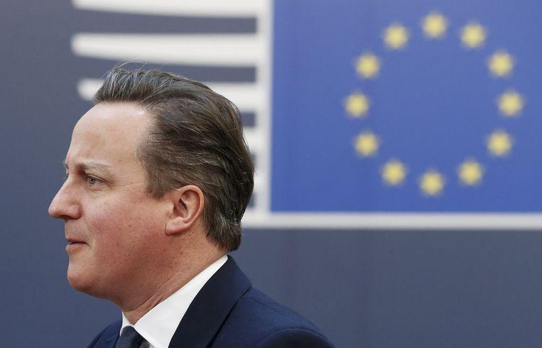 De Britse premier David Cameron. Beeld reuters