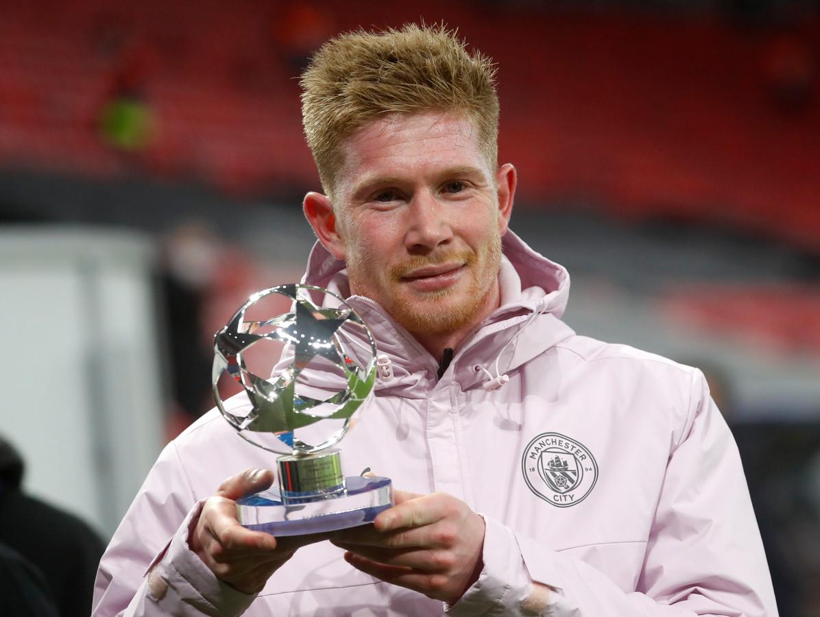 Kevin De Bruyne deed de onderhandelingen rond zijn nieuwe contract bij Manchester City zelf.