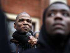 Quincy Gario toegejuicht tijdens zaak zwarte Piet