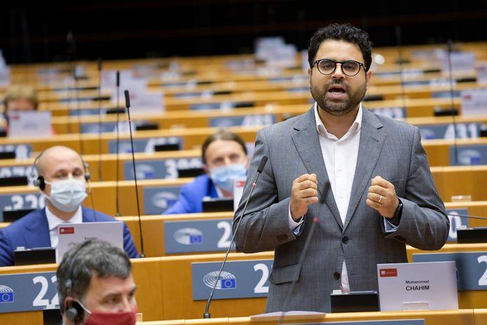 Mohammed Chahim in het Europees Parlement