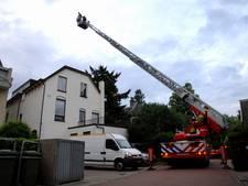 Politie zoekt op het dak naar wietkweker bij inval in Velp