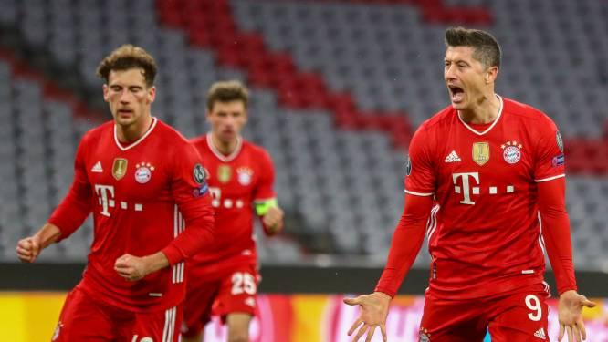 Bayern op cruise control langs Lazio, Lewandowski en Choupo-Moting zorgen voor de goals