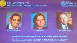 Nobelprijs Economie gaat naar onderzoek tegen wereldwijde armoede