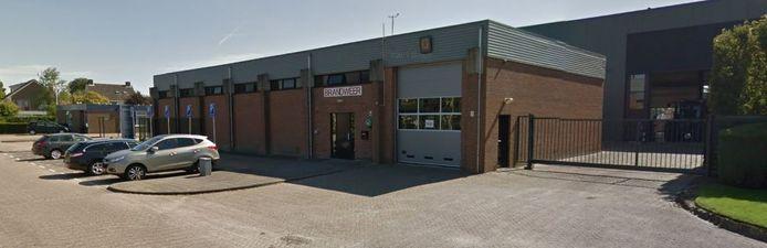 De huidige brandweerkazerne van Wouw.