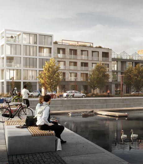 Run op eerste woningen aan het water in nieuwbouwwijk Stadsoevers