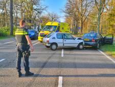 Viertal aangehouden voor diefstal motorscooter, achtervolging eindigt in ongeluk op N69 tussen Valkenswaard en Aalst