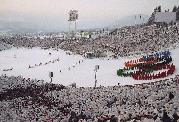 De Winterspelen van 1994 in het Noorse Hamar.