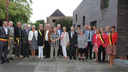 Vijf gouden koppels door het gemeentebestuur gehuldigd