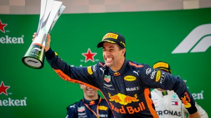 Daniel Ricciardo is de F1-keizer van China na spannend slot, Vandoorne wordt dertiende